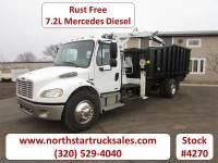 Used 2008 Freightliner M-2 Mercedes Dump Grapple Truck