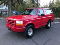 1995 Ford Bronco XLT-CLEAN AUTO CHECK-4X4-LEATHER INTERIOR-