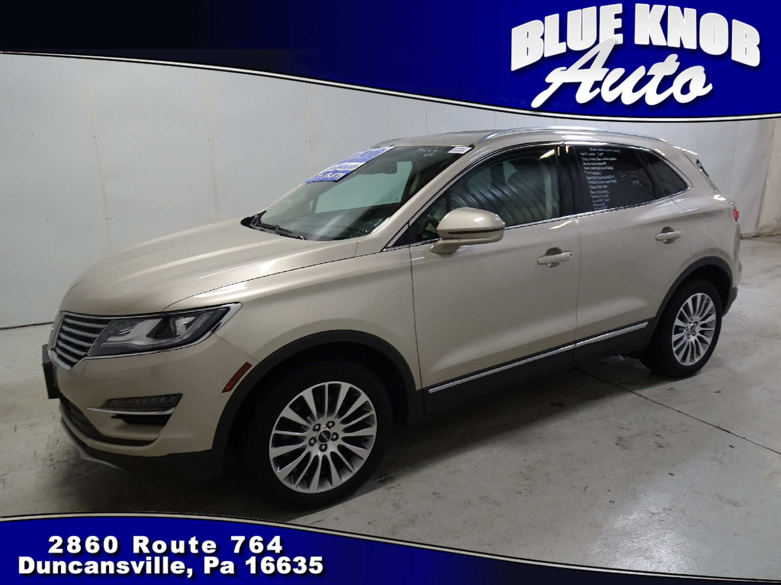 Photo 2017 Lincoln MKC Reserve SUV in Duncansville  Serving Altoona, Ebensburg, Huntingdon, and Hollidaysburg PA