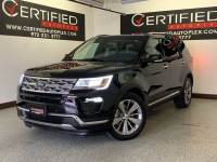 2018 Ford Explorer LIMITED NAVIGATION SUNROOF REAR CAMERA PARK ASSIST HEATED COOLED