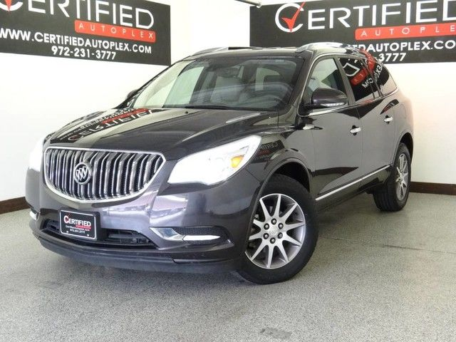 Photo 2015 Buick Enclave LEATHER 2ND ROW CAPTAIN CHAIRS BLIND SPOT ASSIST LANE ASSIST REAR CAMERA RE