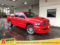 2005 Dodge Ram 1500 SRT10 Truck Quad Cab V-10 cyl