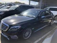 Certified Pre-Owned 2016 Mercedes-Benz S-Class AMG® S 65 Rear Wheel Drive Cars