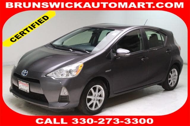 Photo Certified Used 2013 Toyota Prius c One in Brunswick, OH, near Cleveland