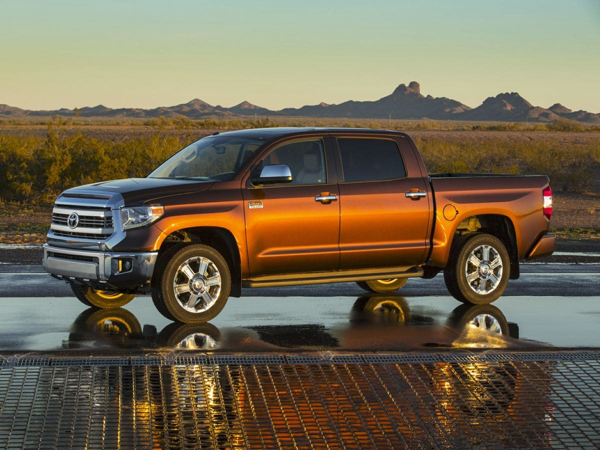 Photo Used 2016 Toyota Tundra 1794 Truck 4WD For Sale in Houston