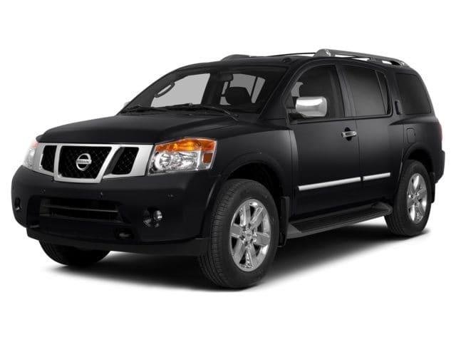 Photo Pre-Owned 2015 Nissan Armada SV SUV in Greensboro NC