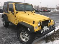 PRE-OWNED 2002 JEEP WRANGLER SPORT 4WD