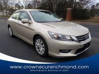 Pre-Owned 2013 Honda Accord EX in Richmond VA