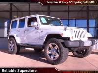 2012 Jeep Wrangler Unlimited Sahara SUV 4WD For Sale in Springfield Missouri