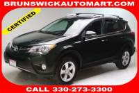 Certified Used 2013 Toyota RAV4 4WD XLE in Brunswick, OH, near Cleveland