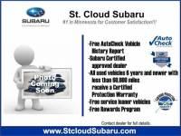 Certified Pre Owned 2016 Subaru Impreza for Sale in St. Cloud near Elk River