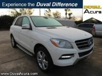 Used 2012 Mercedes-Benz M-Class For Sale at Duval Acura | VIN: 4JGDA5HB1CA055598