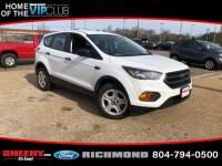 Used 2018 Ford Escape S SUV I-4 cyl for sale in Richmond, VA
