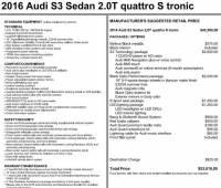 Used 2016 Audi A3 2.0T Premium Sedan in Pittsburgh