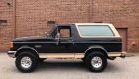 1990 Ford Bronco Eddie Bauer XLT-4X4-CLEAN CARFAX-FROM VIRGINIA-REBUILT ORIGINAL-TOW HITCH-
