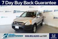 Used 2002 Honda CR-V For Sale in Hackettstown, NJ at Honda of Hackettstown Near Dover | JHLRD77862C077170
