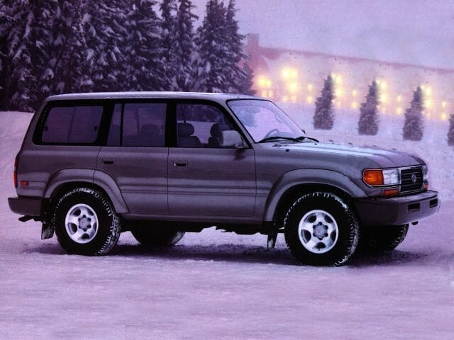 Photo Pre-Owned 1996 Toyota Land Cruiser 4WD SUV For Sale Corte Madera, CA