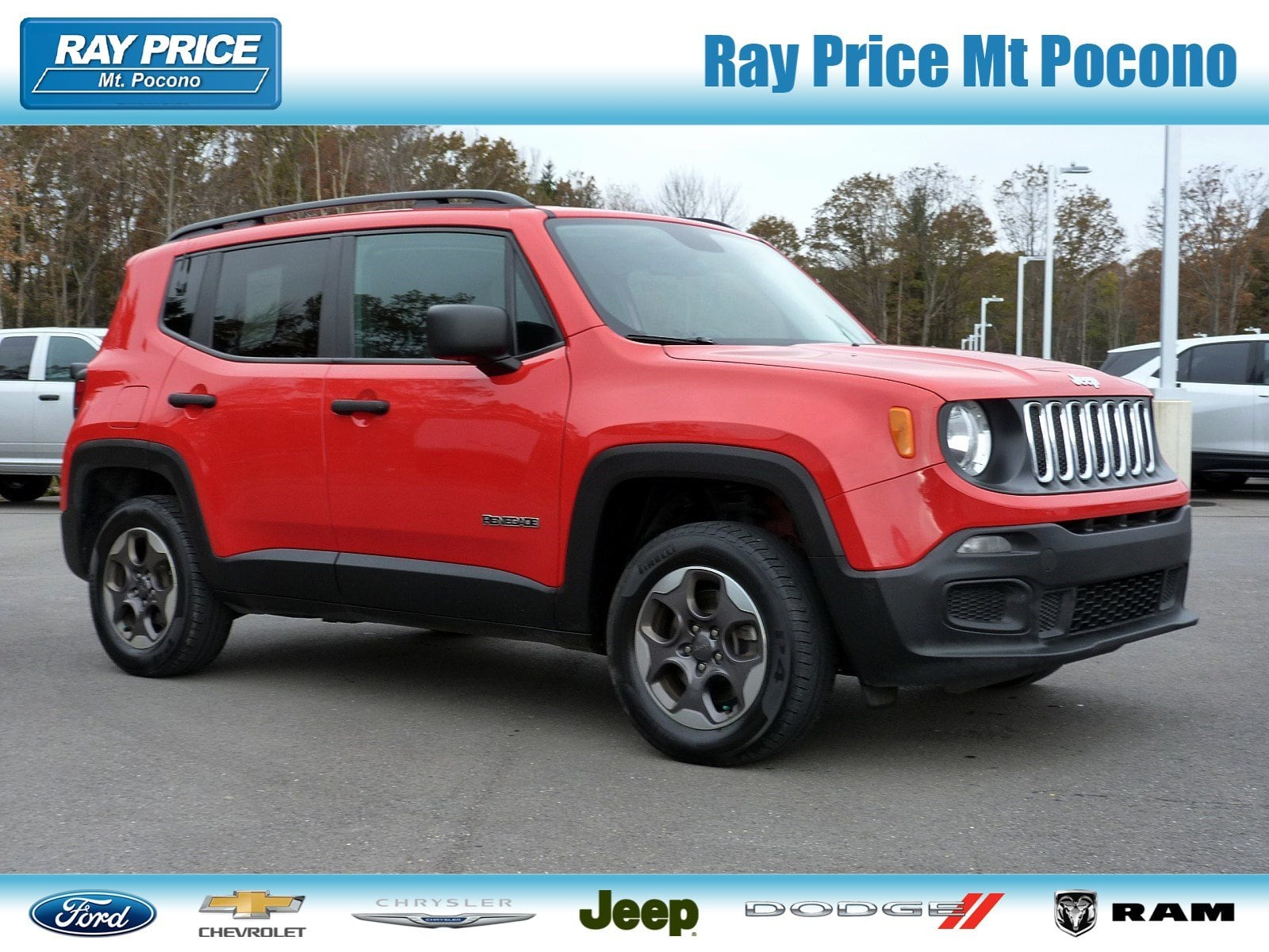 Photo Certified Pre-Owned 2017 Jeep Renegade Sport 4x4 For Sale East Stroudsburg, PA