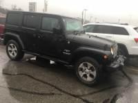 Used 2016 Jeep Wrangler JK Unlimited Sahara 4x4 SUV in Toledo