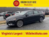 Used 2018 Ford Fusion Sedan for sale in Amherst, VA