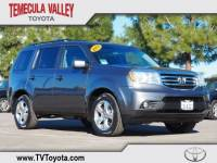2013 Honda Pilot EX-L FWD SUV Front-wheel Drive in Temecula