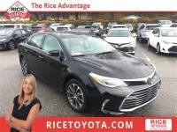 2017 Toyota Avalon XLE Plus Sedan Front-wheel Drive
