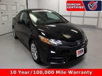 Used 2015 Honda Civic Coupe For Sale at Duncan's Hokie Honda | VIN: 2HGFG3B50FH532354