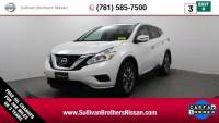 Certified Pre-Owned 2016 Nissan Murano S SUV For Sale in Kingston, MA
