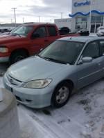 2005 Honda Civic Hybrid w/ULEV Sedan