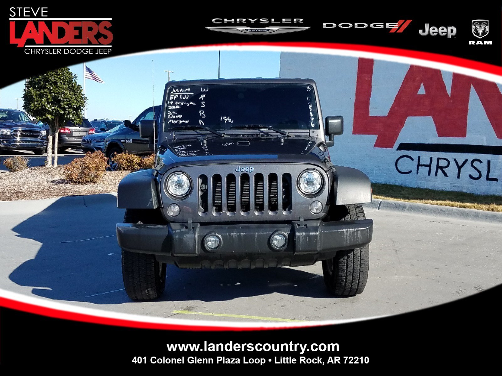 Photo CERTIFIED PRE-OWNED 2016 JEEP WRANGLER BLACK BEAR 4WD