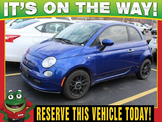 Photo Used 2012 FIAT 500 Pop - Privacy Glass - Alloy Wheels For Sale Near St. Louis