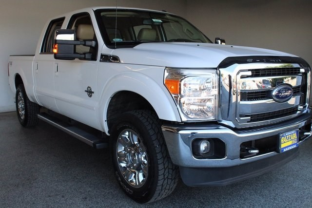 Photo Used 2012 Ford F-250 Truck Crew Cab in Merced, CA