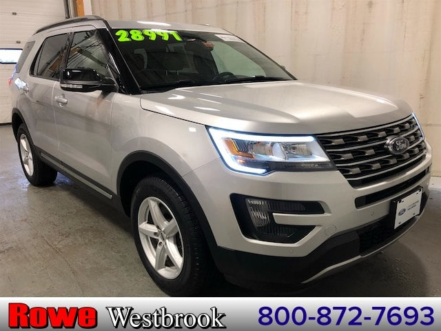 Photo 2016 Ford Explorer XLT 2nd Row Bucket SeatsNavigation SUV V6