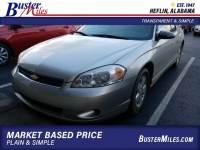 2007 Chevrolet Monte Carlo LS Coupe V6 SFI Flex Fuel FWD