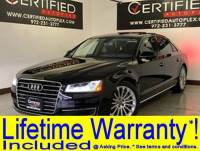 2016 Audi A8 L 3.0T QUATTRO HEADSUP DISPLAY BLIND SPOT ASSIST NAVIGATION PANORAMIC ROOF LE