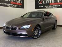 2016 BMW 640I GRAN COUPE XDRIVE INDIVIDUAL COMPOSITION COLD WEATHER PKG DRIVER ASSISTANCE