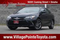 2016 Toyota Camry SE Sedan FWD for sale in Omaha