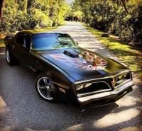 1978 Pontiac Firebird -TRANS AM-RESTORED-400 AUTO-HOT ROD BLACK-