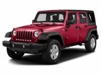 Pre-Owned 2016 Jeep Wrangler JK Unlimited Sport RHD 4x4 SUV in Greenville SC