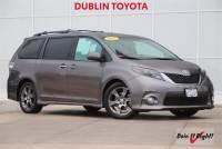 Certified Pre-Owned 2015 Toyota Sienna SE Minivan/Van in Dublin, CA