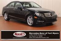 2013 Mercedes-Benz C-Class C 300 Sport 4dr Sdn 4matic in Fort Myers