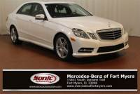 2013 Mercedes-Benz E-Class E 350 Sport 4dr Sdn RWD *Ltd Avail* in Fort Myers