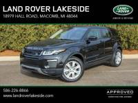 Certified Pre-Owned 2017 Land Rover Range Rover Evoque SE in Macomb, MI
