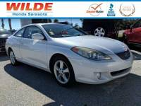 Pre-Owned 2004 Toyota Camry Solara SLE 2dr Car