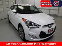 Used 2017 Hyundai Veloster For Sale at Duncan's Hokie Honda | VIN: KMHTC6AD0HU307516