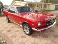 1966 Ford Mustang -DELUXE CANDY APPLE RED-289 ENGINE WITH MANUAL TRANS-FLORIDA PONY CLASSIC-