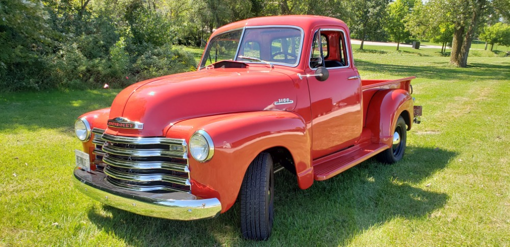 Photo 1953 Chevrolet 3100 -PICKUP-FRAME OFF RESTORED 5 WINDOW PICK UP - SEE VIDEO