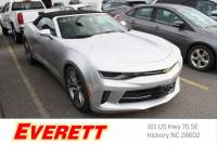 Certified Pre-Owned 2018 Chevrolet Camaro 1LT Convertible RWD Convertible
