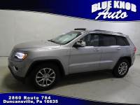 2016 Jeep Grand Cherokee Limited 4x4 SUV in Duncansville | Serving Altoona, Ebensburg, Huntingdon, and Hollidaysburg PA