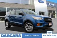 2017 Ford Escape S SUV I-VCT Engine